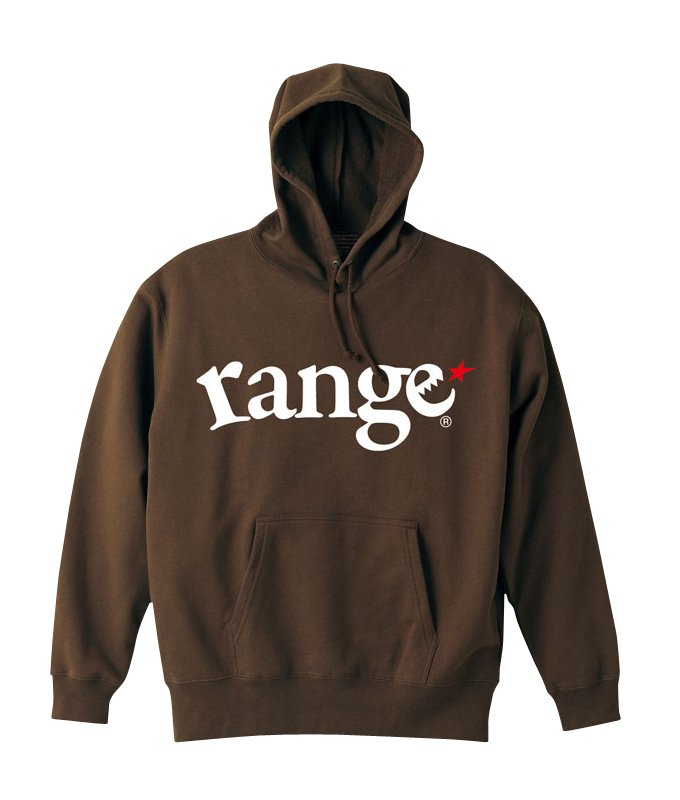 range logo pull over hoody colors