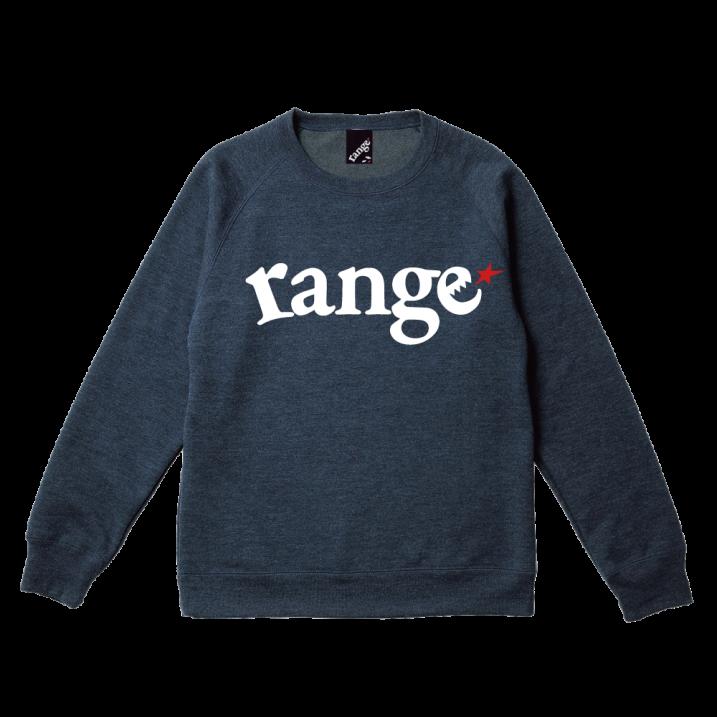 range logo raglan crew sweat 2の商品イメージ