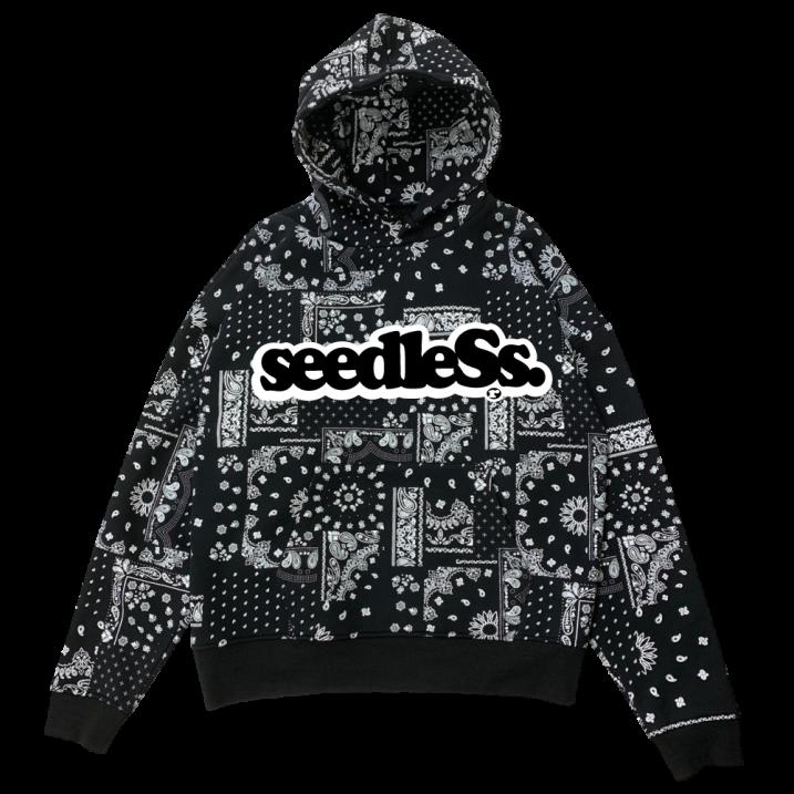 sd paisley all over big size hoodyの商品イメージ