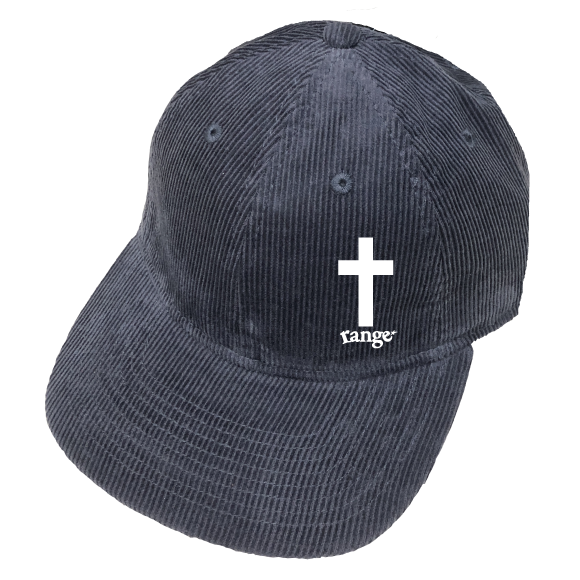 rg cross corduroy low cap