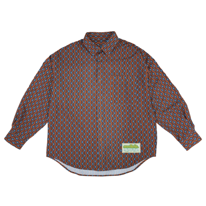 sd VAR pattern over size shirts の商品イメージ