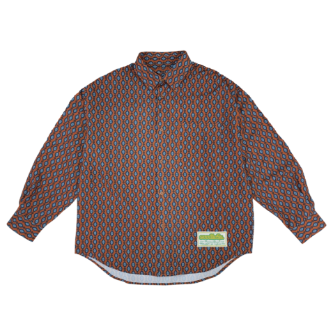 sd VAR pattern over size shirts