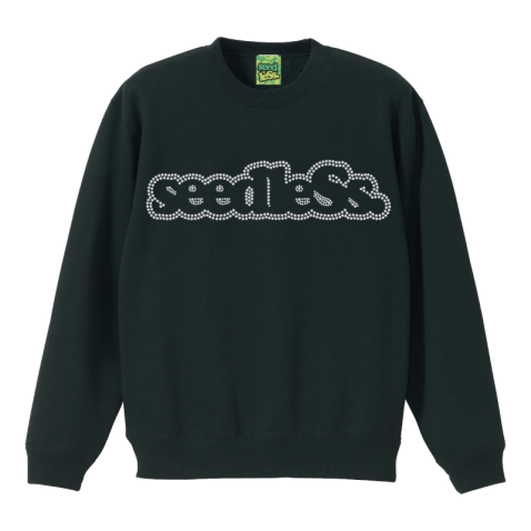 sd linestone crew neck