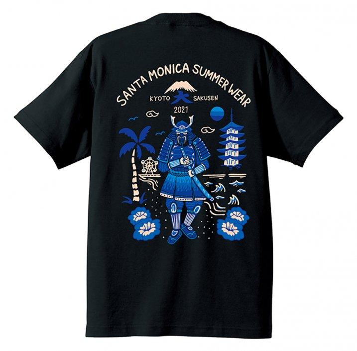 SANTA MONICA SUMMER WEAR X 京都大作戦コラボTシャツの商品イメージ