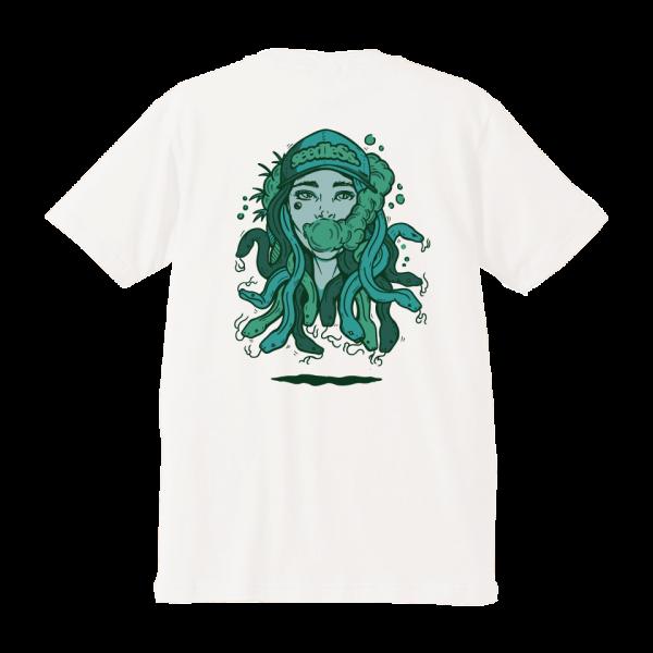 snake green girl s/s tee