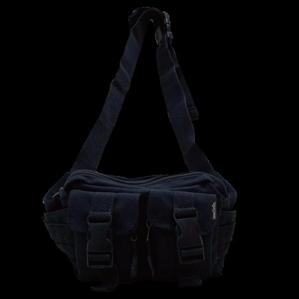 sd blk/wht body bag