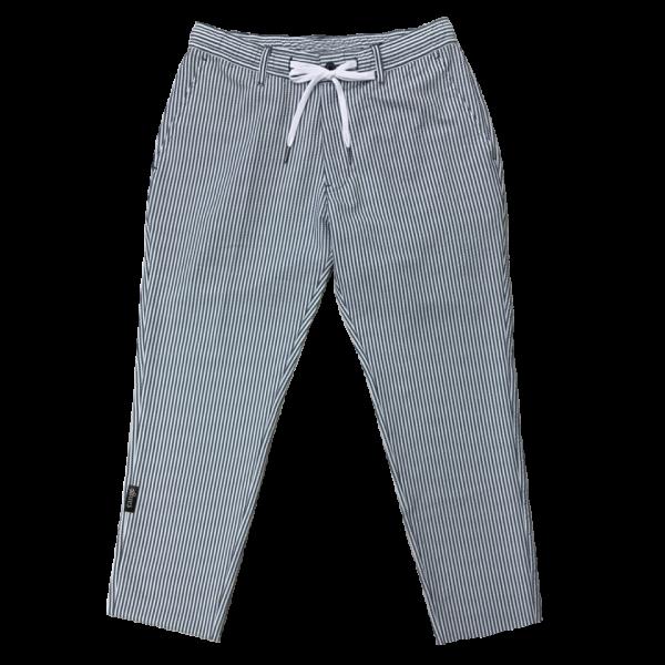 Seersucker ankle taperd pants