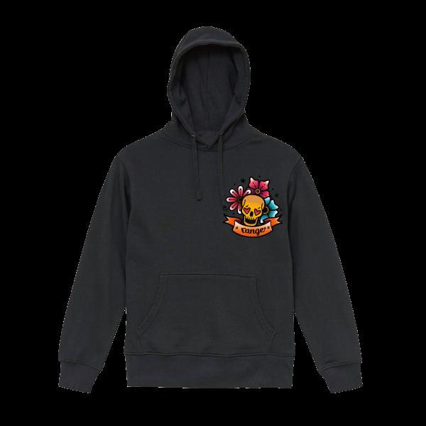 Love skull hoody