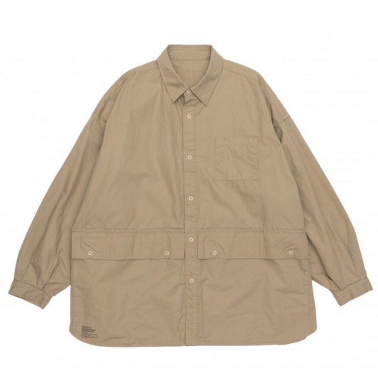 FreshService<br>CARGO POCKET REGULAR COLLAR UTILITY SHIRT[U]