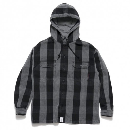 DESCENDANT<br>SPICOLI HOODED LS SHIRT