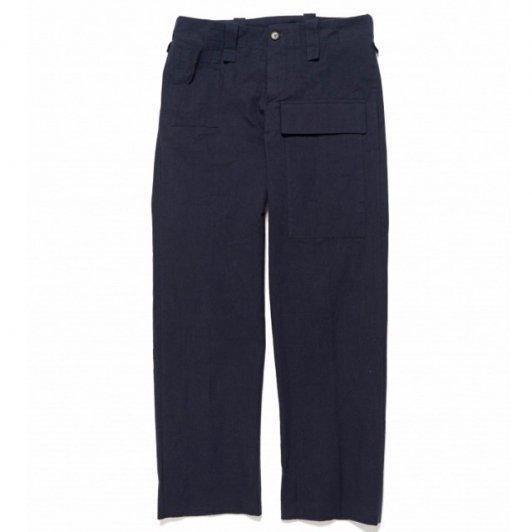 【SALE】Bergfabel<br>worker pants heavy cotton navy