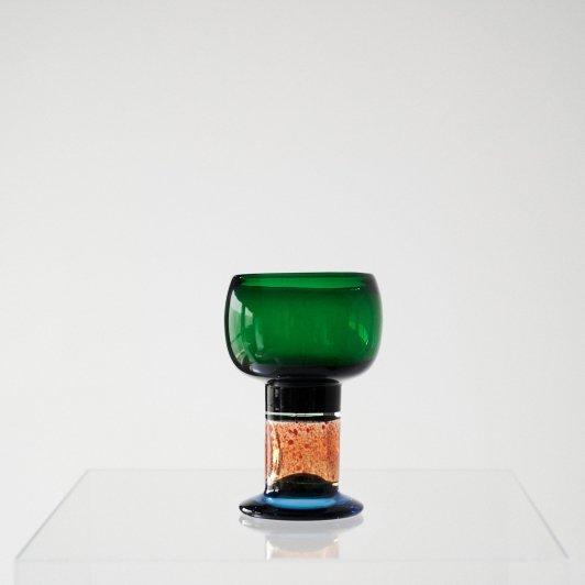 Nuutajarvi Art Glass series [Goblet] N540, 973 / Kaj Franck