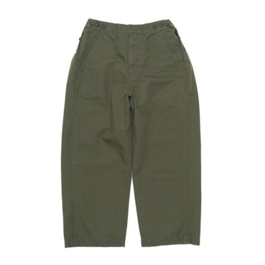 TapWater Cotton Ripstop Military Trousers ※10/11(月)正午よりオンラインストア発売開始