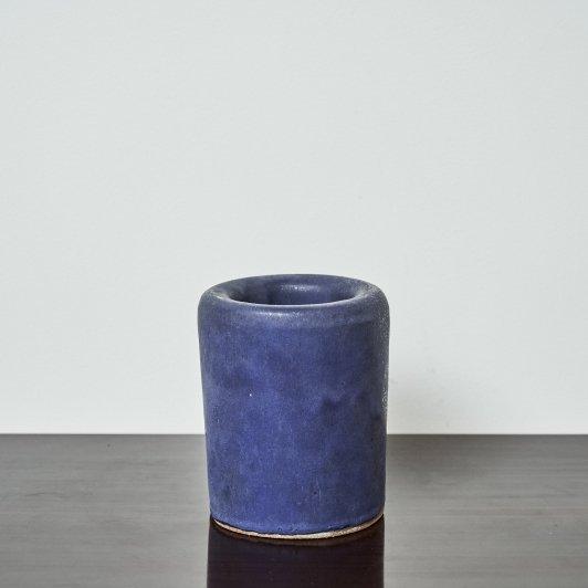 CLAM LAB Vase Double Walled Cobalt
