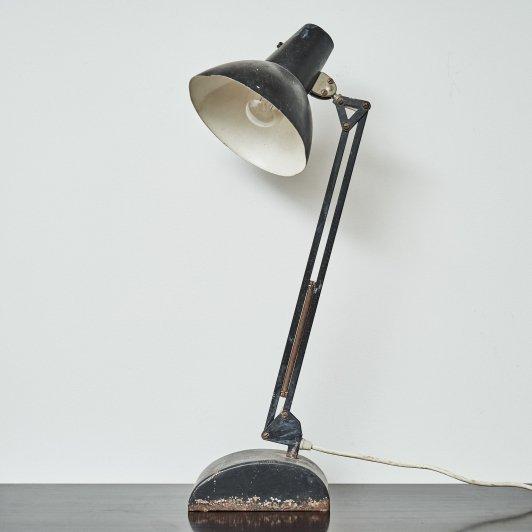 Industrial Desk Lamp Black