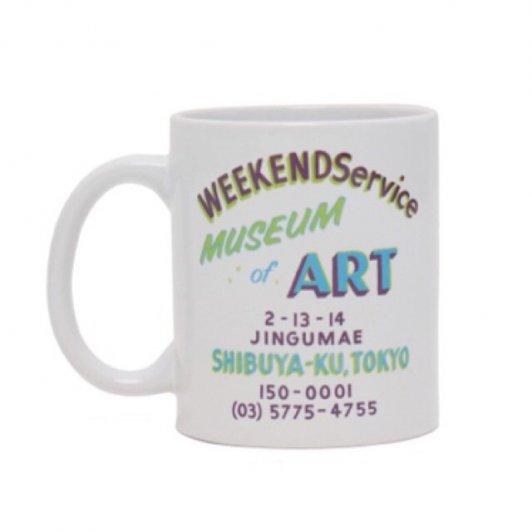 WeekendService Mug WHITE A