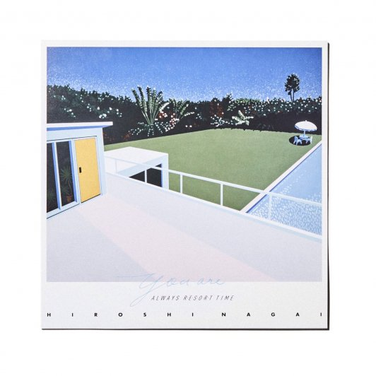 Adult Oriented Records YOU ARE ALWAYS RESORT TIME/HIROSHI NAGAI 2022 RESORT TYPE CALENDER