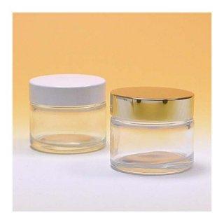 コスメ瓶(化粧品) 50g透明クリーム瓶