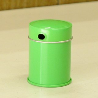 七味缶 七味缶 φ38×H52 ミドリ
