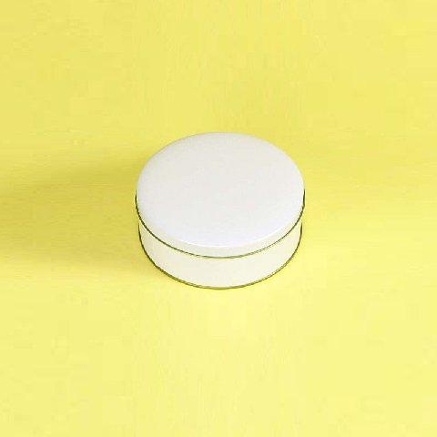 白ベタ材 平丸缶【画像2】