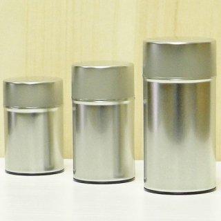 丸缶(高型) ブリキ茶缶150g