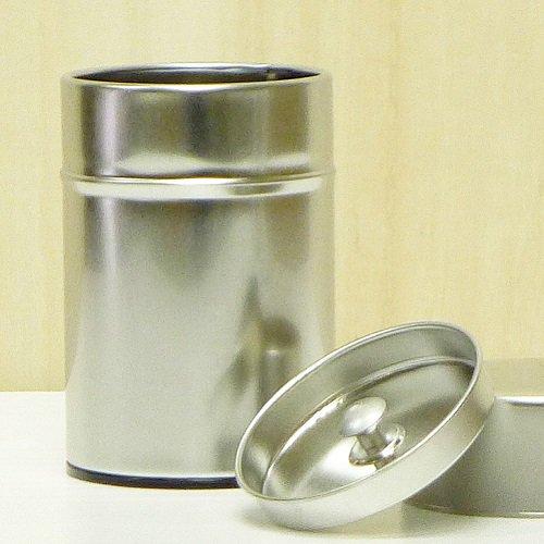 ブリキ茶缶100g