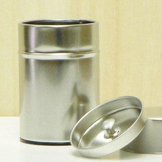 丸缶(高型) ブリキ茶缶100g