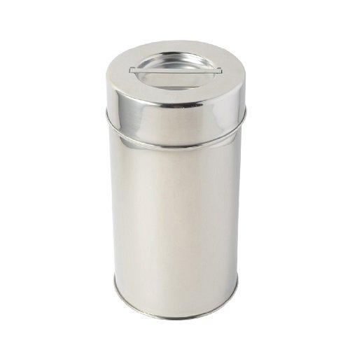 ステンレス製 丸缶
