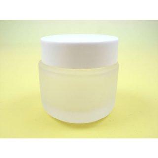 コスメ瓶(化粧品) 30gフロストクリーム瓶