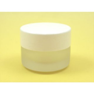 コスメ瓶(化粧品) 10gフロストクリーム瓶