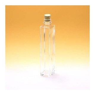 細口瓶(コルク栓・他) 角ストレート-200ml コルク栓