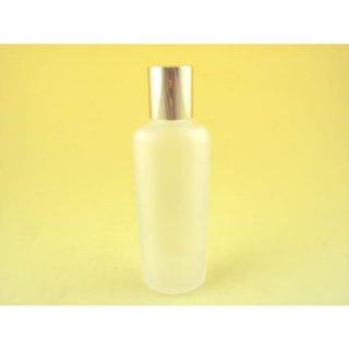 コスメ瓶(化粧品) オーバル瓶 フロスト 50cc (金CAP)