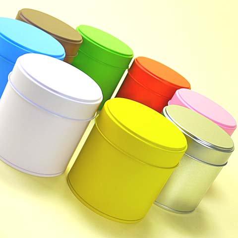 カラー丸缶 L【画像5】