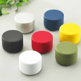 丸缶(平型) カラー丸缶 S