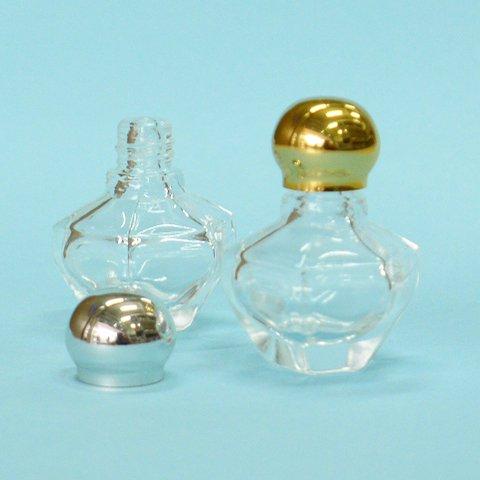香水瓶 六角 4cc (金CAP)【画像4】