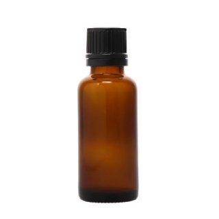 アロマ瓶 茶ドロップ栓瓶 30ml