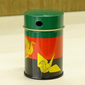 七味缶 3色鶴