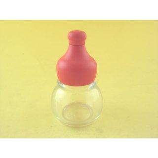 その他・瓶 ひょうたん型七味瓶 (赤)