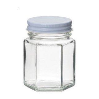 広口瓶(ネジ) SJ(6角)-100ネジ