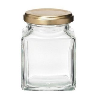 ガラス瓶 HS(角)180 ツイスト