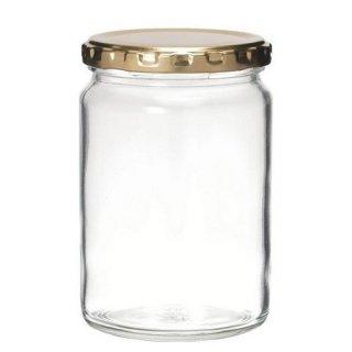 広口瓶(ツイスト) ジャム450 ツイスト