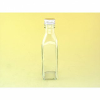 細口瓶(ネジ) 角-300ml ネジ