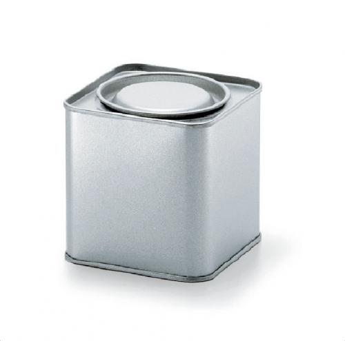 角型 紅茶缶