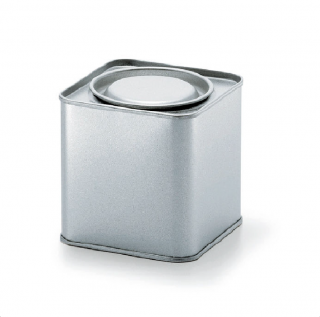 角缶 角型 紅茶缶
