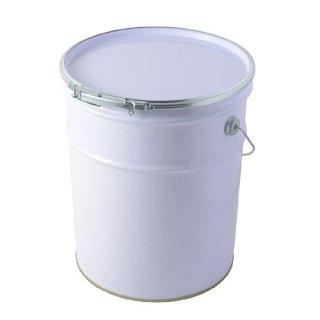 工業缶 20L 白ペール缶(オープン)