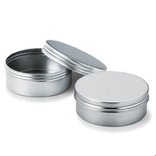 丸缶(平型) アルミ製スクリュー缶