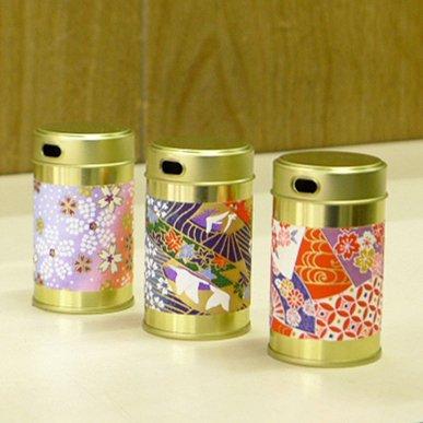 七味缶胴和紙(5缶セット)【画像2】