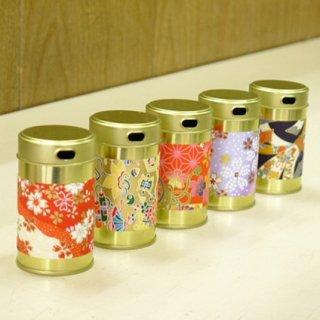 七味缶 七味缶胴和紙(5缶セット)