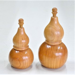木製品 国産けやきの七味ひょうたん