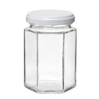 ガラス瓶 SJ(6角)150 ツイスト